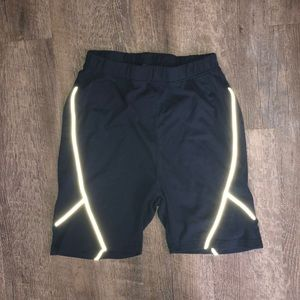 Missguided reflective biker shorts